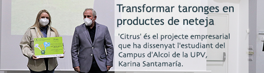 Transformar taronges en productes de neteja